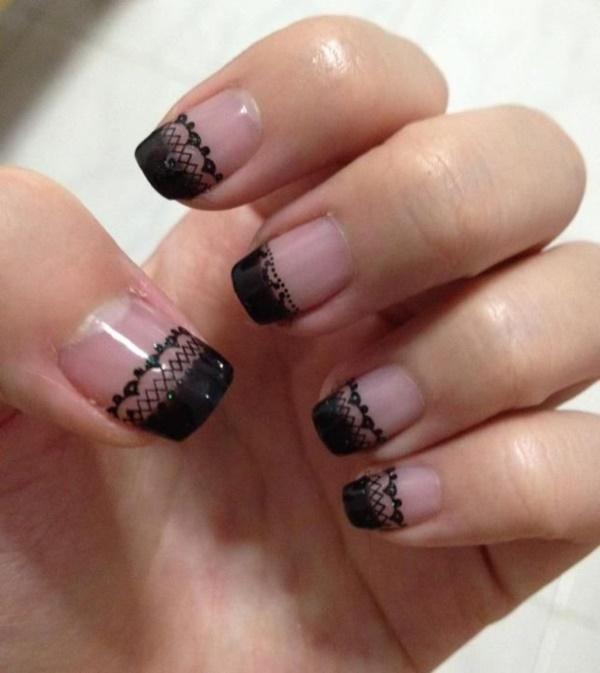 black nail arts (77)