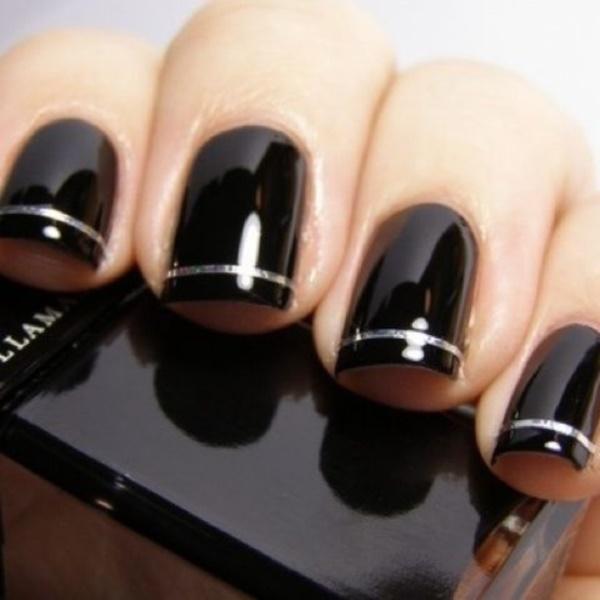 black nail arts (80)