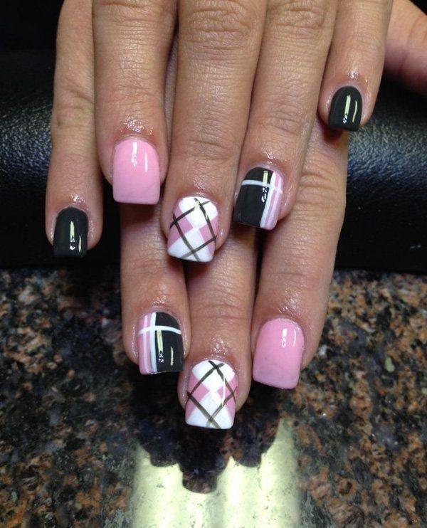 black nail arts (83)