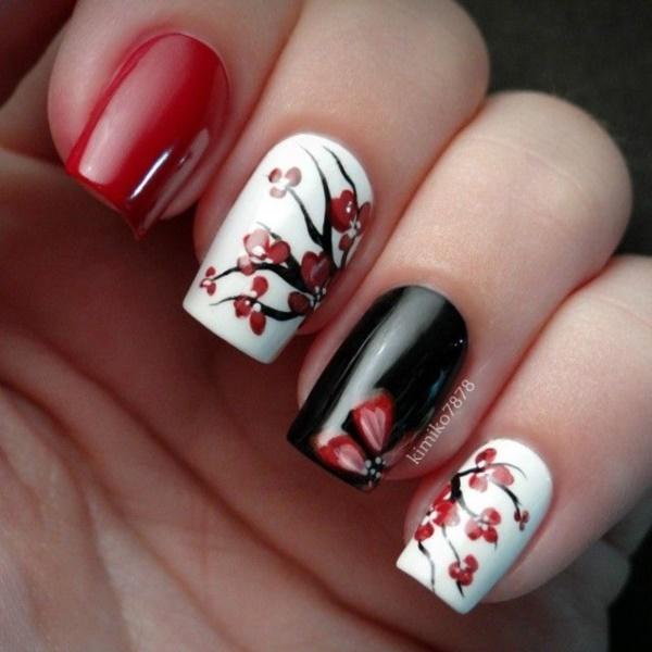 black nail arts (88)