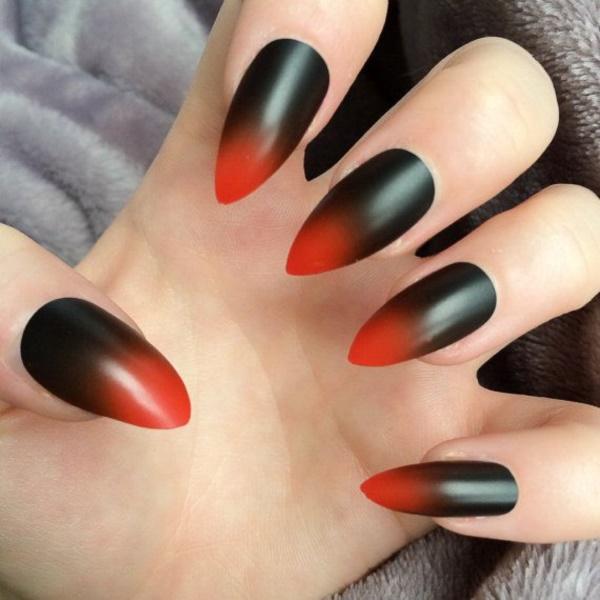 black nail arts (94)