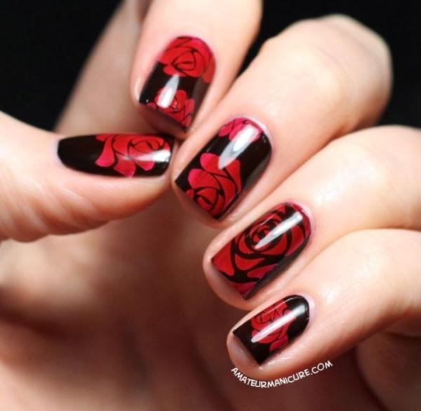 black nail arts (96)