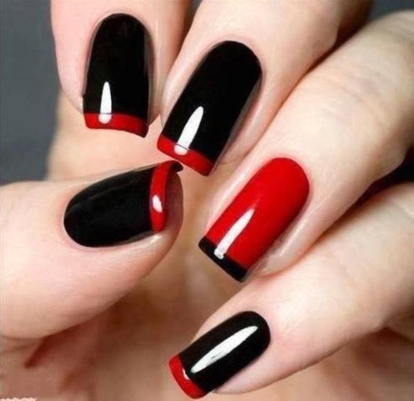 black nail arts (98)