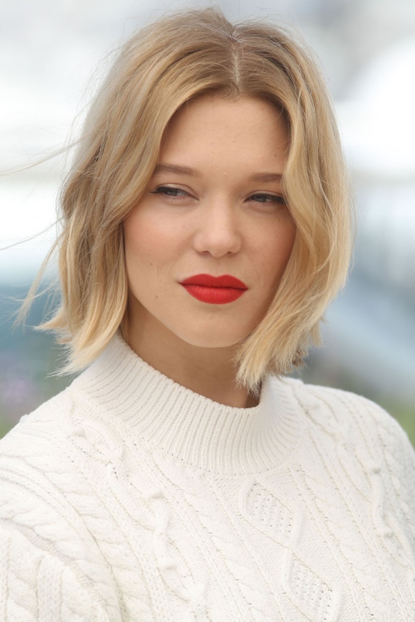 CANNES, FRANCE - MAY 19: Lea Seydoux attends 'It's Only The End Of The World (Juste La Fin Du Monde)' during the Photocall - The 69th Annual Cannes Film Festival on May 19, 2016 in Cannes. (Photo by Mike Marsland/Mike Marsland/WireImage)