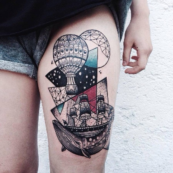 geomatry tattoos designs (12)