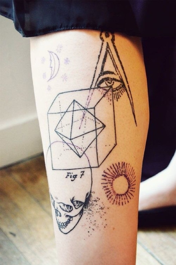 geomatry tattoos designs (32)