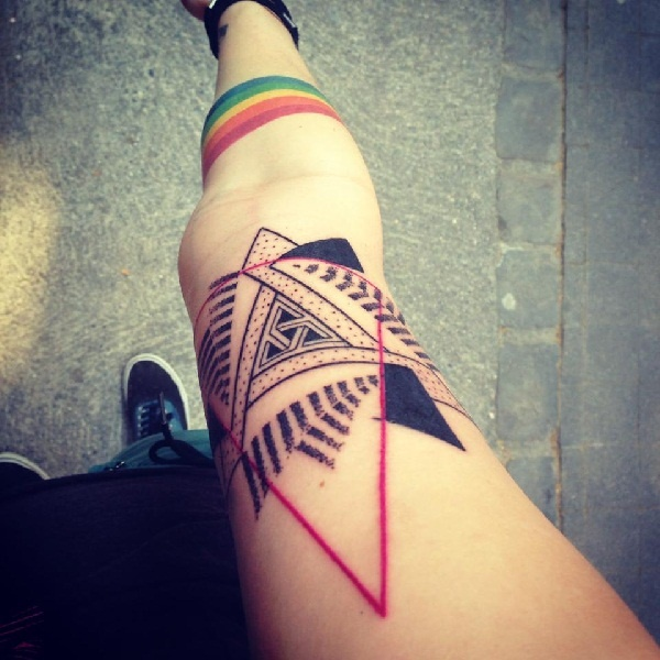 geomatry tattoos designs (33)