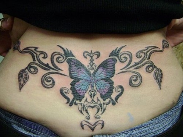 lower back tattoos (44)