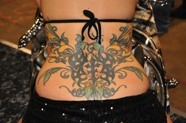 lower back tattoos (61)