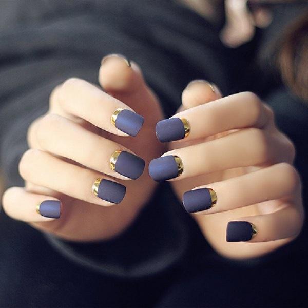 matte nail arts0121
