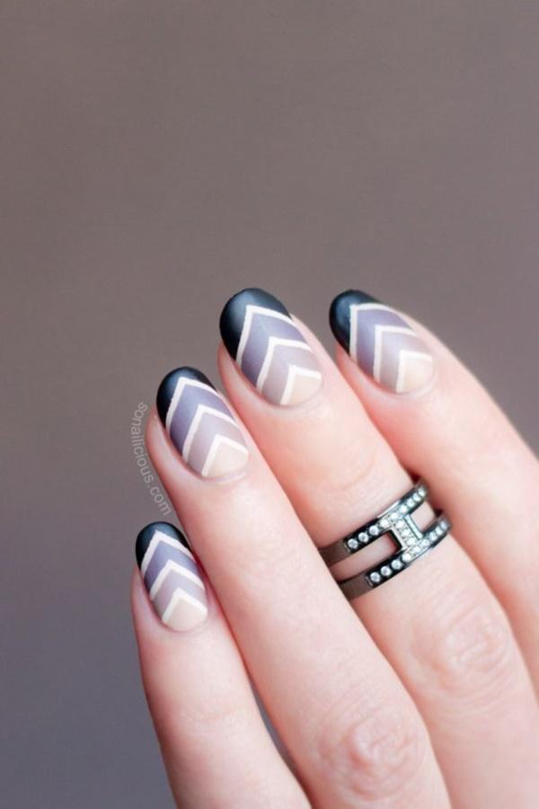 matte nail arts0131