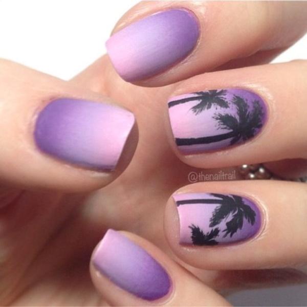 matte nail arts0141