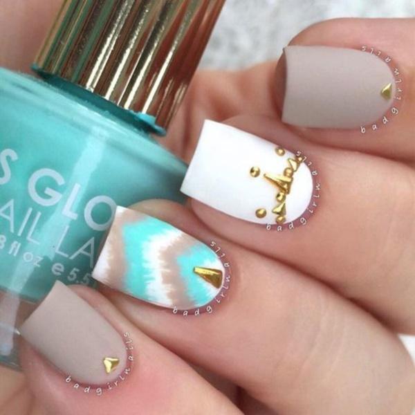 matte nail arts0151