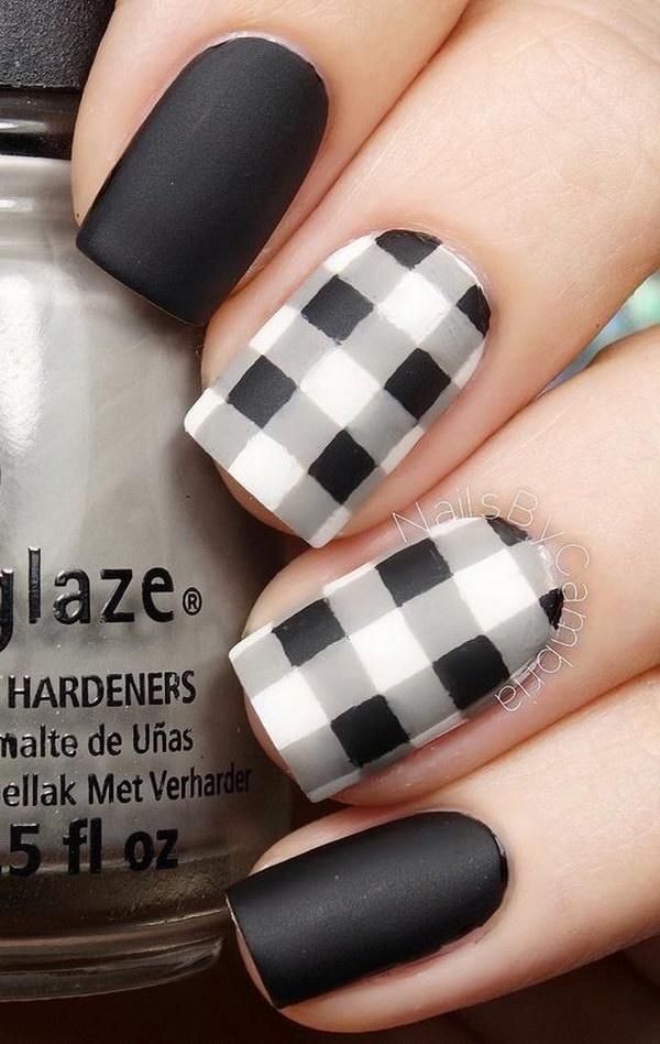 matte nail arts0171
