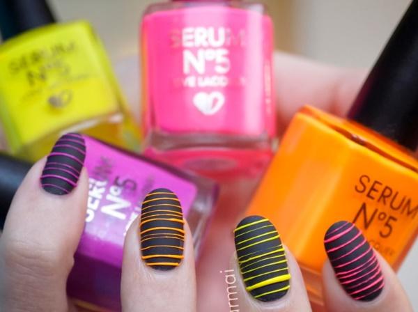 matte nail arts0181