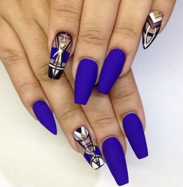 matte nail arts0211