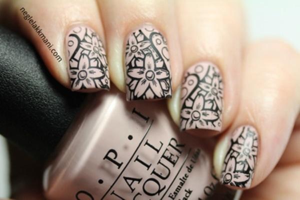 matte nail arts0341