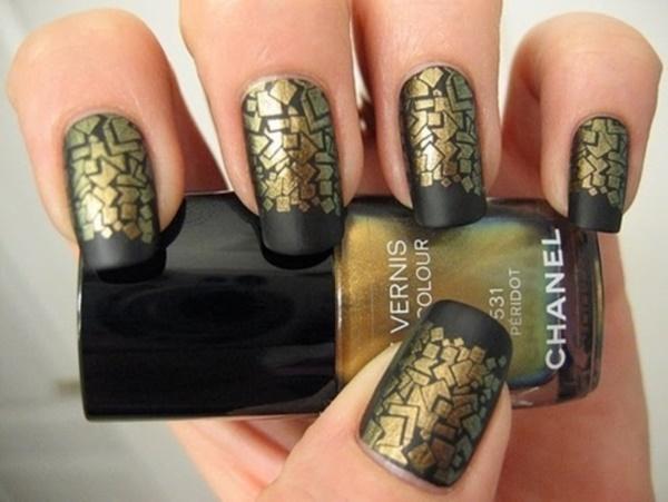 matte nail arts0371