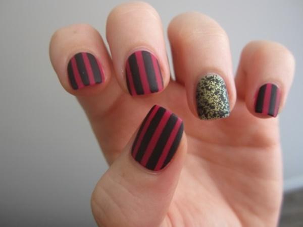 matte nail arts0381