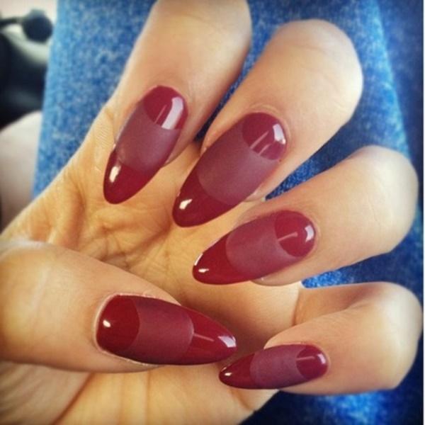 matte nail arts0391