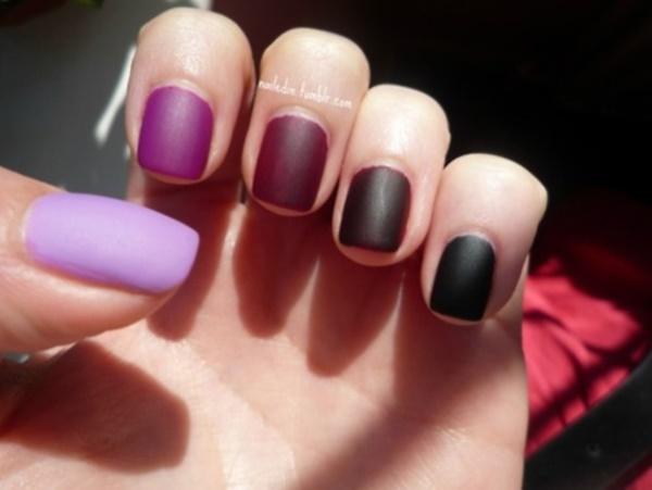 matte nail arts0401