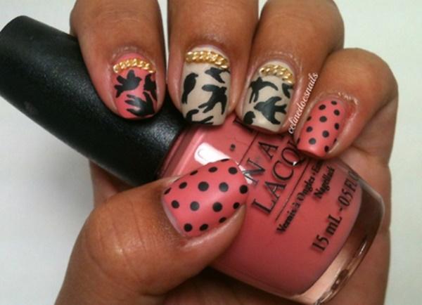 matte nail arts0411