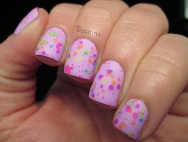 matte nail arts0421