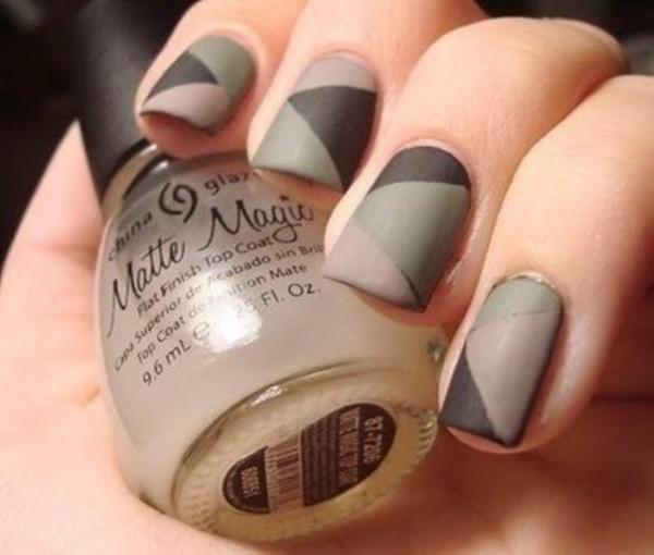 matte nail arts0441