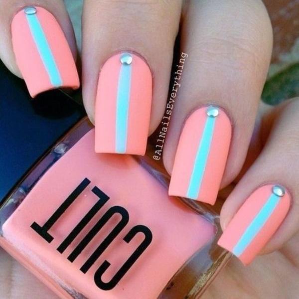 matte nail arts0451