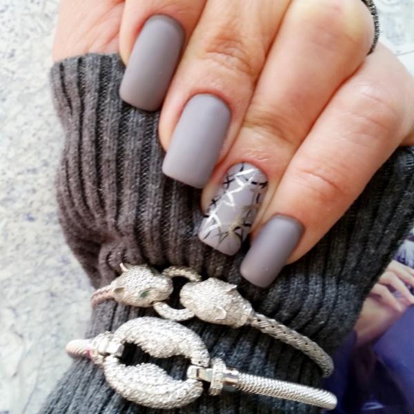 matte nail arts0471