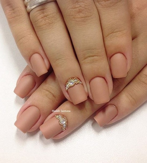 matte nail arts0531