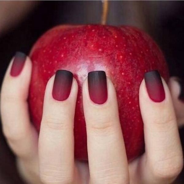 matte nail arts0571