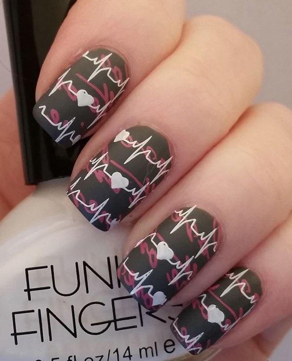 matte nail arts0621