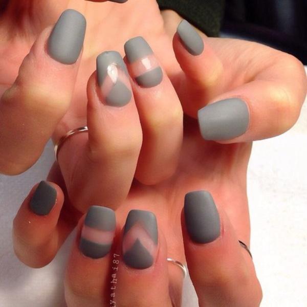 matte nail arts0651