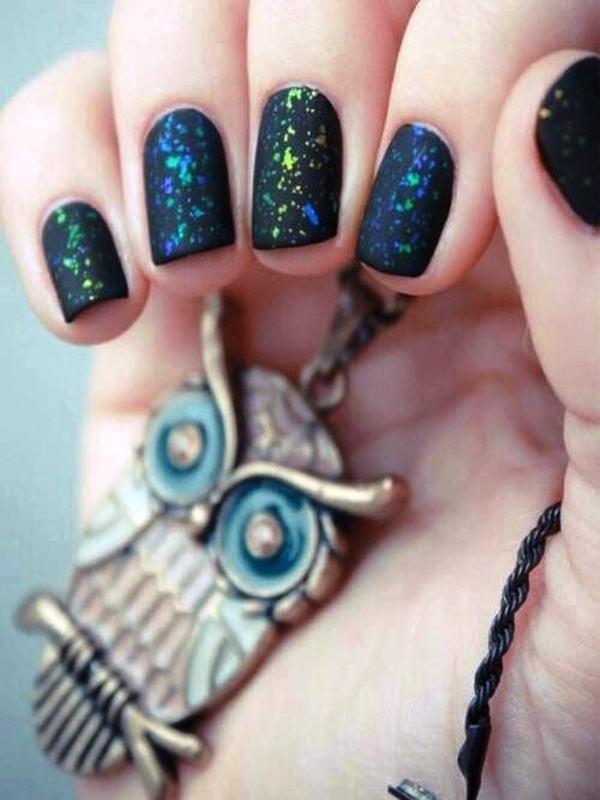 matte nail arts0691