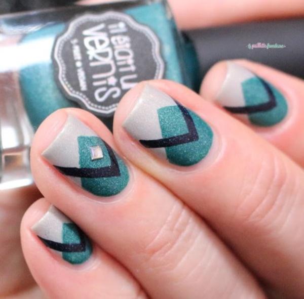 matte nail arts0721