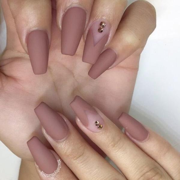 matte nail arts0771