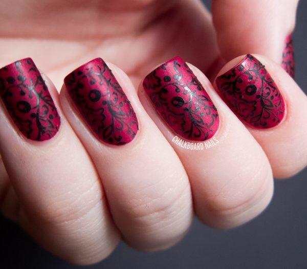 matte nail arts0781
