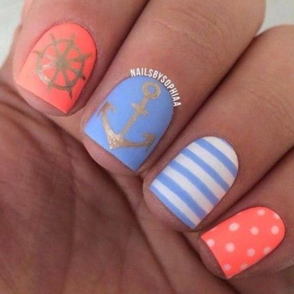 matte nail arts0791
