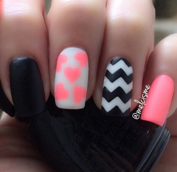 matte nail arts0801