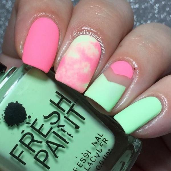 matte nail arts0811