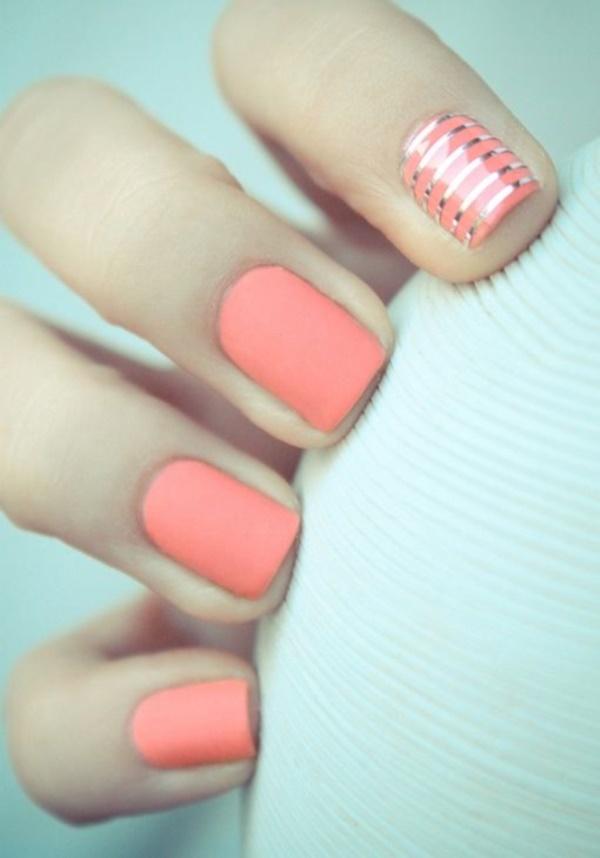 matte nail arts0841