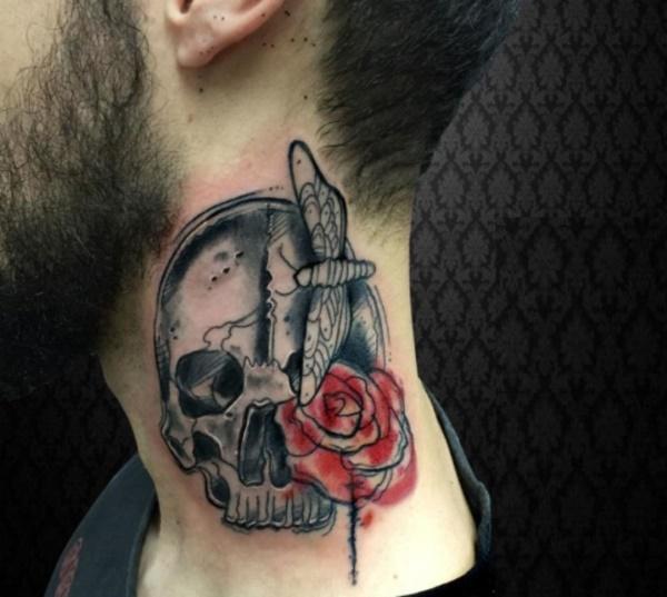 neck tattoo designs (48)