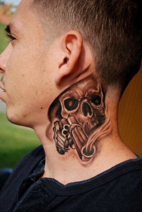 100 Unique Neck Tattoo Designs To Ink With And To Choose From