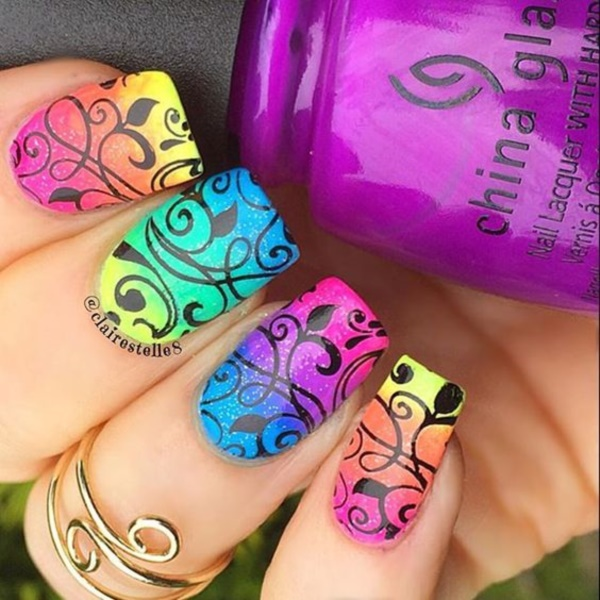 summer nail arts0781