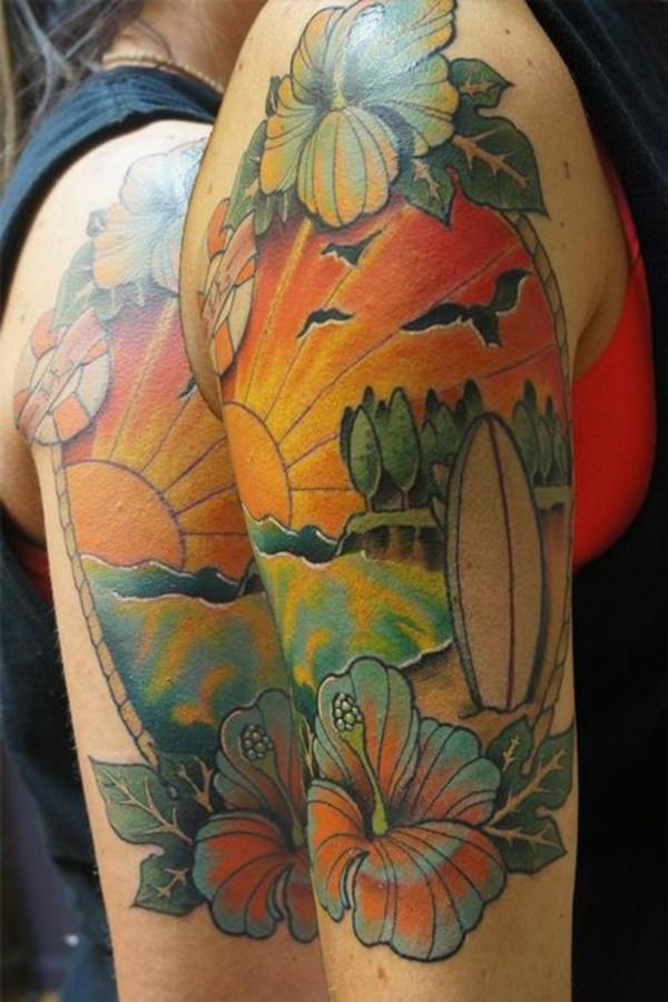 surf tattoos designs (1)