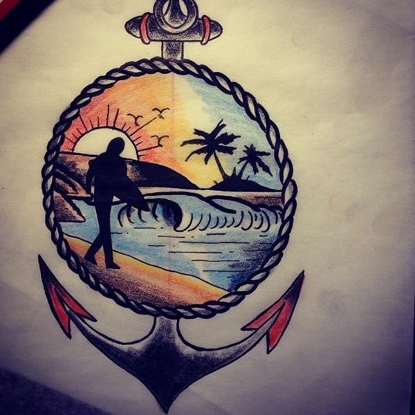 surf tattoos designs (18)