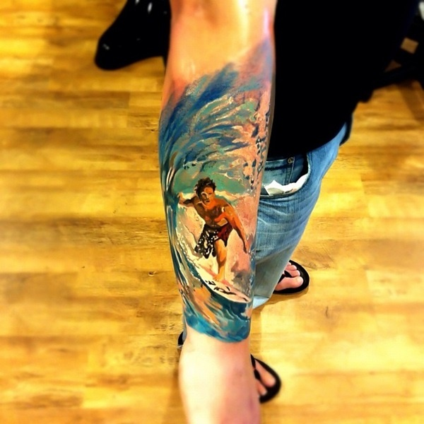 surf tattoos designs (28)