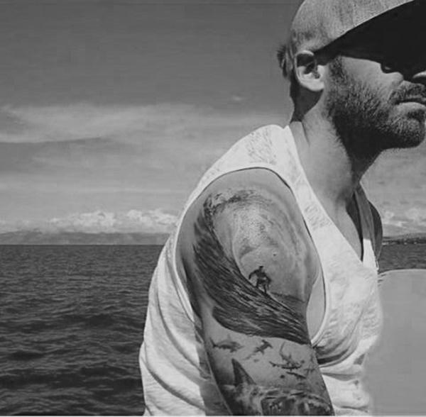 surf tattoos designs (4)