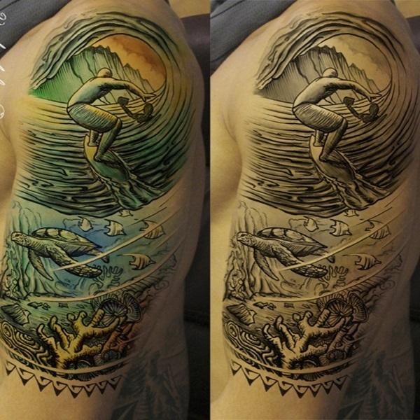 surf tattoos designs (40)
